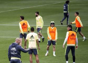 Jesé se entrenó con el grupo; Cristiano y Benzema, ausentes
