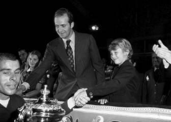 En 1976 Felipe VI acudió por primera vez al Manzanares