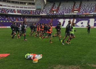 Villar y Chica son duda para jugar ante el Lugo