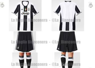 Filtran el diseño de la camiseta de la Juventus para la 2016/17