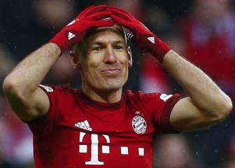 Robben vuelve a romperse y estará tres meses de baja