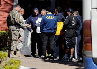 Piden prisión para 6 de los 237 hinchas del Boca detenidos