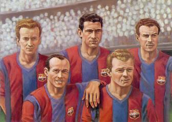 El 29 de abril de 1951 Kubala debuta con el Barcelona