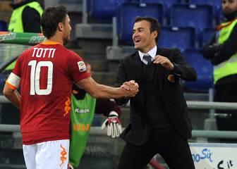 Luis Enrique no descartaría a Totti: