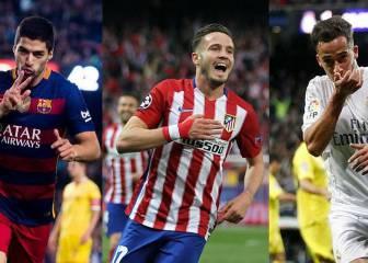 Barça, Atleti y Madrid, a por la Liga más apretada