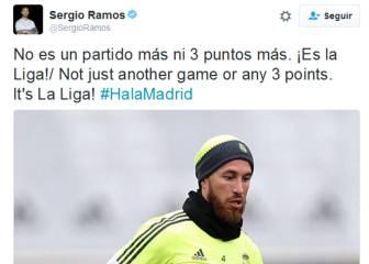 Ramos arenga al equipo: