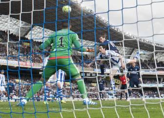 El gol de Bale y las mejores imágenes del Real Sociedad-Real Madrid