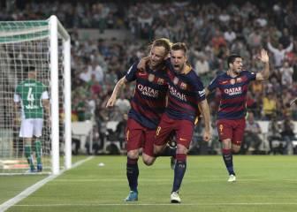 Betis-Barcelona en imágenes