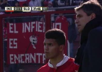 Debutó el hermano del Kun Agüero en Independiente