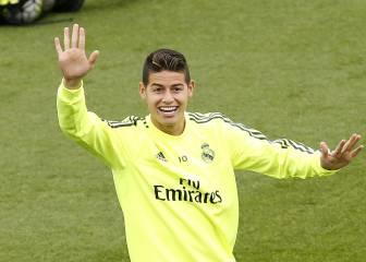 James quiere convencer de nuevo a Zidane en Anoeta