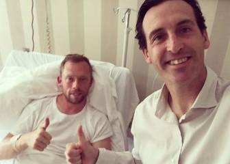 Emery visita a Krohn-Dehli en el hospital para darle ánimos