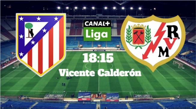 Atlético de Madrid vs Rayo en vivo y en directo online