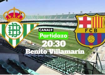 Betis vs Barcelona en vivo y en directo online