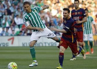 Betis vs Barcelona en directo y en vivo online
