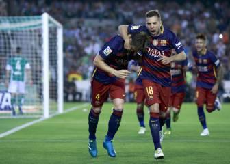 Uno por uno: Rakitic y Suárez golean; Adán y Messi asisten