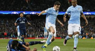 Navas, con molestias en el tobillo, duda contra el Madrid