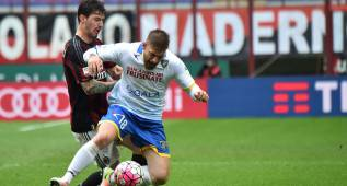 El Milán solo empata con el Frosinone: ahora es séptimo