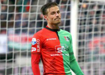 Christian Santos falló un penalti y el NEC perdió en casa