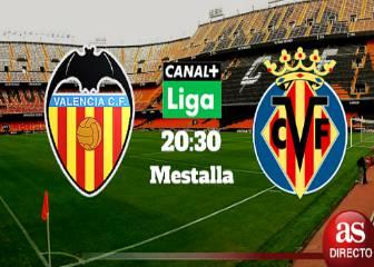 Valencia vs Villarreal en vivo y en directo online: Jornada 35