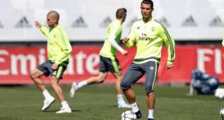 Cristiano acelera para estar ante el City: ya toca balón