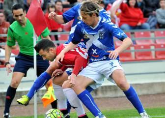Lekic mantiene vivo al Girona y aleja al Tenerife del Playoff