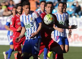 Manu Herrera salvó un punto para el Zaragoza en El Toralín