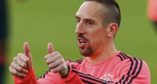 Ribéry estará ante el Atlético