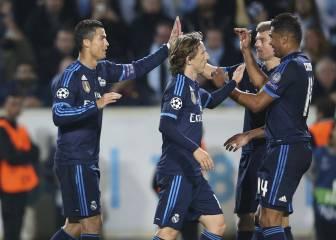 Casemiro-Kroos-Modric: el equilibrio del Real Madrid