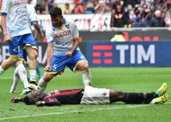 Gori celebró el penalti fallado por Balotelli en su propia cara
