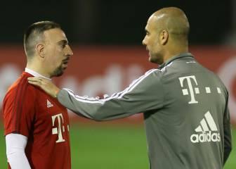 Mensaje de Ribéry a Guardiola: