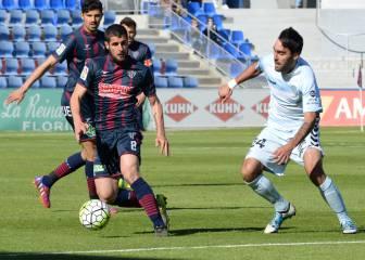 Escassi y Tébar se lesionan y son duda ante el Oviedo
