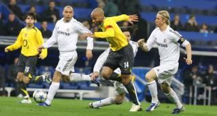 Sólo Liverpool y Arsenal vencieron en el Bernabéu