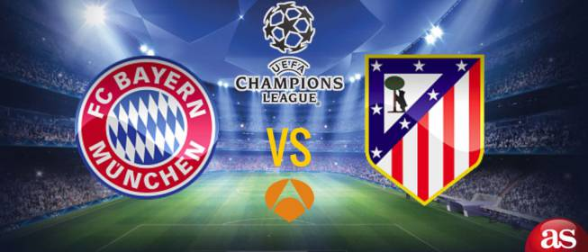 Sigue el partido de Champions League entre el Bayern de Múnich vs Atlético de Madrid disputado hoy 3 de mayo de 2016 en el Allianz Arena