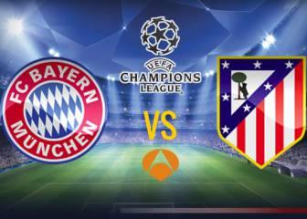 Bayern vs Atlético de Madrid en vivo y en directo online