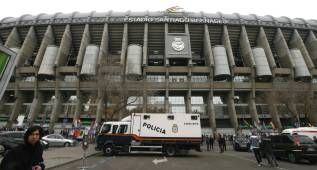 Seguridad reforzada ante el City en el Bernabéu: 2.093 efectivos