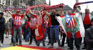 Un atlético se deja la entrada para el partido en España