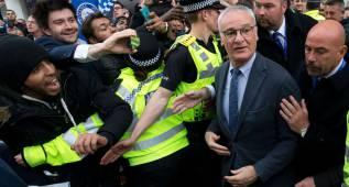 """Ranieri, eufórico: """"Esto es algo que sucede una vez en la vida"""""""