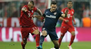 El Atlético corrió cuatro kilómetros más que el Bayern