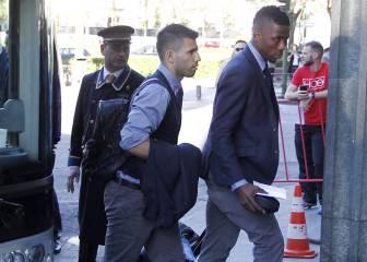 El Manchester City, directo al hotel sin pisar el Bernabéu