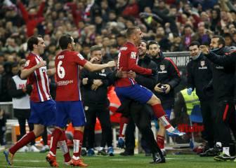 El Atleti, a Milán con un 25% de posesión contra Barça y Bayern