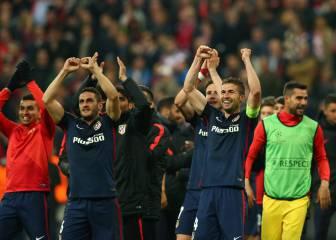 Sólo ocho jugadores atléticos repiten de Lisboa a Milán