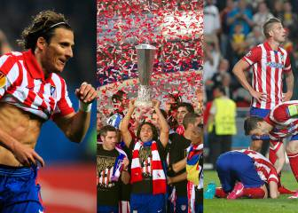 El Atlético, final europea cada 2 años: la evolución de los onces