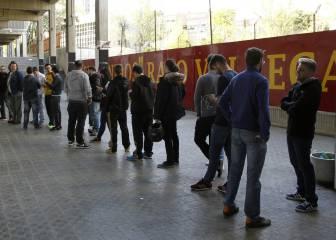 La Real Sociedad manda 120 entradas al Rayo Vallecano