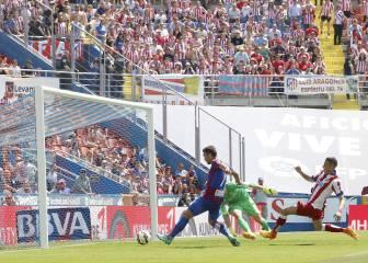 El Atleti, alerta tras la derrota en casa del Levante en la 13-14