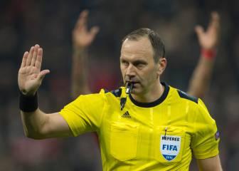 El sueco Jonas Eriksson pita la final: un regalo a su trayectoria
