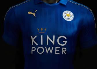 El Leicester vestirá en Premier y Champions con esta camiseta