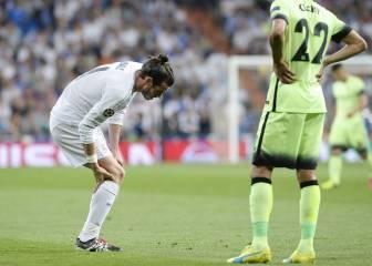 Gareth Bale, baja mañana por una distensión de rodilla