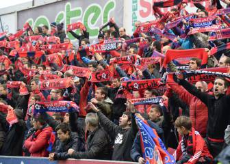Osasuna pide 10.000 entradas para el partido de Bilbao