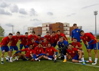 España Sub-17: conoce uno por uno a los cracks del futuro
