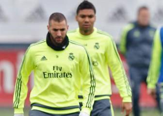 Benzema y Casemiro entran; se caen Keylor, Bale y Carvajal